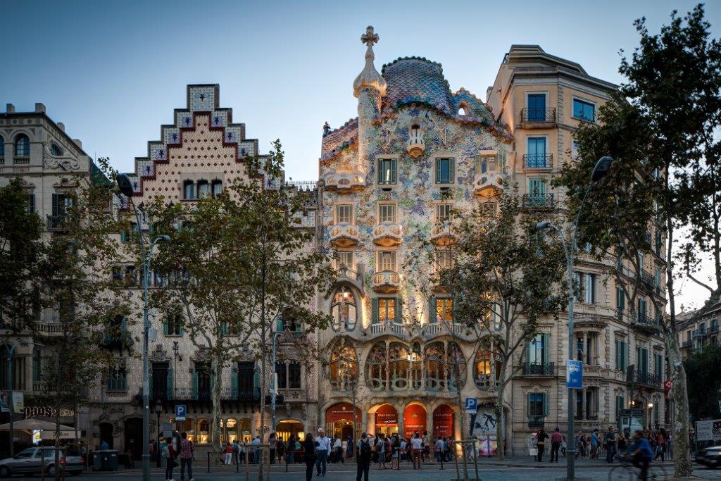 Motorcycles-in-Spain-Barcelona